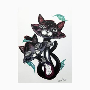 Chapignon Engraving by Jessica Pliez, 2018