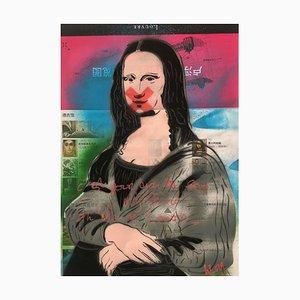 Es ist ihr Geheimnis zu bewahren, dass sie nicht Louvre Fuschia von Christophe Stouvenel, 2019
