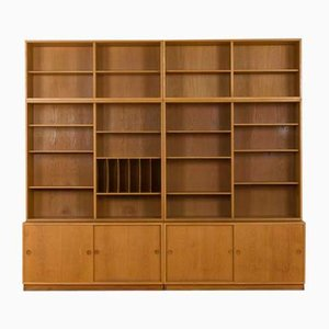 Oak Modular Shelving Unit by Børge Mogensen for Karl Andersson & Söner, 1960s
