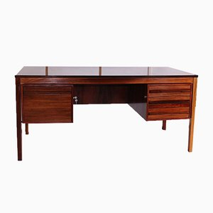Mid-Century Norwegian Rosewood Desk by Torbjørn Afdal for Bruksbo, 1970s
