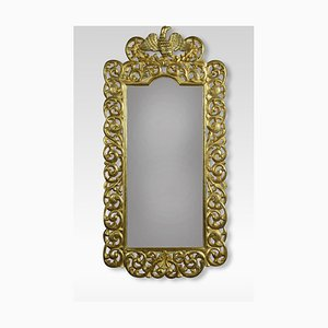 Antique Italian Gilt Wall Mirror