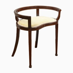 Edwardian String Inlaid Piano Chair