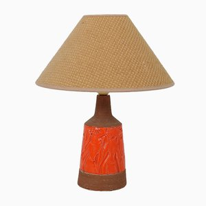 Mid-Century Italian Ceramic Table Lamp from Fratelli Fanciullacci, 1960s