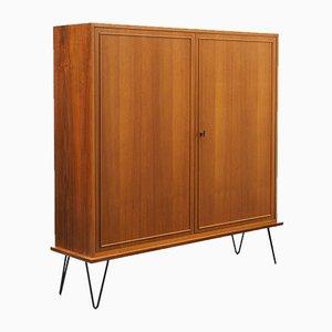 Slim Walnut Sideboard, 1960s