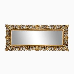 Antique Italian Giltwood Wall Mirror
