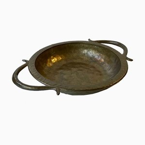 Art Deco Scandinavian Bronze Bowl, 1930s