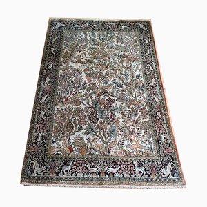Orientalischer Teppich aus Seide, 1950er