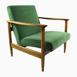 Green Armchair by Edmund Homa, 1970s