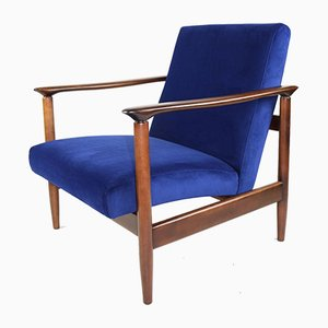 Blue Armchair by Edmund Homa, 1970s