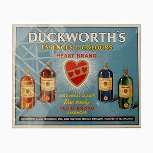 Duckworths Essences & Colours Advertising Poster from Duckworths & Co, 1950s