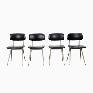 Result Chairs by Gerrit Rietveld for Ahrend De Cirkel, 1970s, Set of 4
