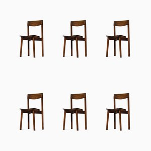 French Dining Chairs by Pierre Gautier Delaye, 1960s, Set of 6