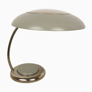 Mid-Century German Gray Table Lamp, 1960s
