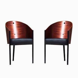 Costes Armchairs by Philippe Starck for Driade, 1990s, Set of 2