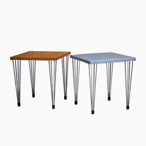 Tables Basses Vintage de Fritz Hansen, Set de 2