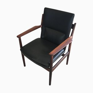 Danish Rosewood Armchair by Arne Vodder for Sibast, 1960s