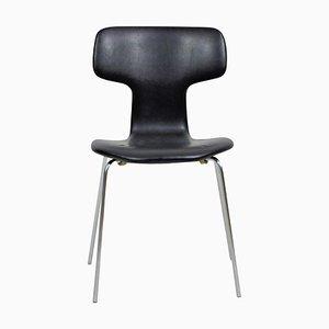 Chaise T ou Chaise Hammer par Arne Jacobsen pour Fritz Hansen, Danemark, 1960s
