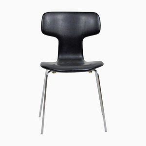 Danish T-Chair or Hammer Chair by Arne Jacobsen for Fritz Hansen, 1960s