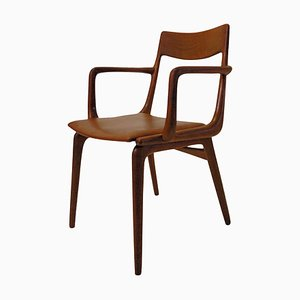 Boomerang Armchair in Teak by Alfred Christensen for Slagelse Møbelværk, 1950s