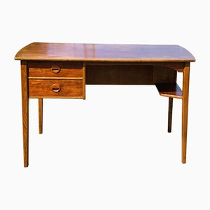 Mid-Century Danish Teak Desk Attributed to Kai Kristiansen, 1960s