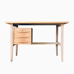 Mid-Century Danish Oak Desk, 1960s