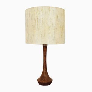 Danish Wenge Table Lamp, 1960s