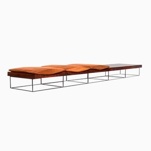 Rosewood Bench by Jorge Zalszupin for L'atelier, 1963
