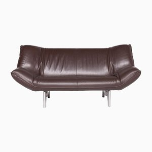 Brown Tango Leather 3-Seat Sofa from Leolux
