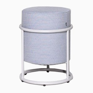 Blue Drop Fabric Stool by Pauline Deltour for Cor