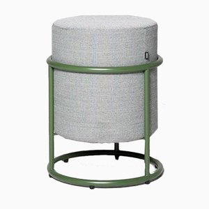 Green Drop Fabric Stool by Pauline Deltour for Cor
