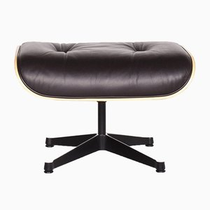 Brown Leather Lounge Chair by Charles & Ray Eames for Vitra