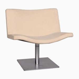 Beige Wave 901 Fabric Armchair from Tonon