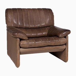 Brown Leather DS 86 Armchair from de Sede