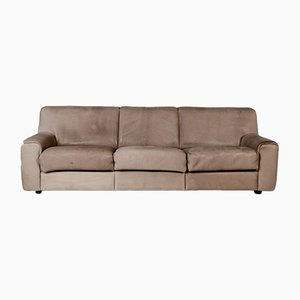 Brown Leather DS 42 3-Seat Sofa from de Sede