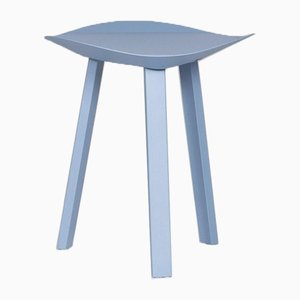 Freestyle Light Blue Metal Stool from Rolf Benz