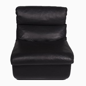 Black Leather Module Armchair from Walter Knoll