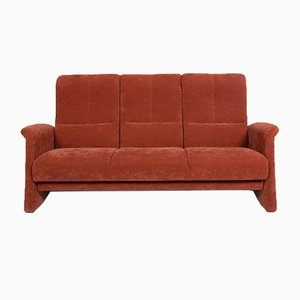 Rust Orange Fabric 3-Seat Sofa from Himolla