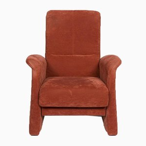 Rust Orange Red Fabric Armchair from Himolla