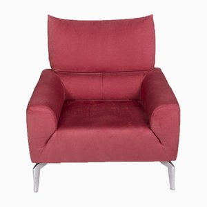 Rosé Fabric Armchair from Laauser