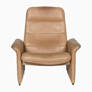 Brown Beige Leather DS 50 Armchair from de Sede