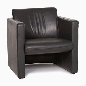 Anthracite Grey 886 Leather Armchair from Leolux