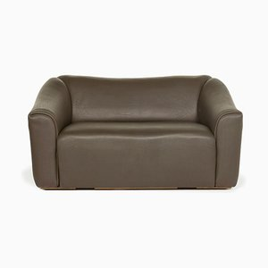 Brown Leather DS 47 3-Seat Sofa from de Sede