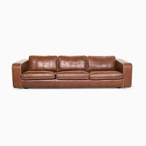 Brown Valentino Leather 3-Seat Sofa from Machalke
