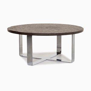 Metal Slate Coffee Table from Draenert