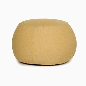 Yellow Pix 67 Fabric Pouf from Arper