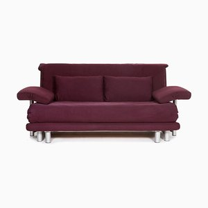 Purple Multry Fabric Sofa Bed with Sleep Function from Ligne Roset