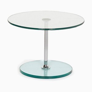 Silver Largo 1010 Glass Coffee Table from Draenert