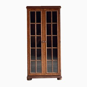 Mid-Century Oak Display Cabinet, 1950s