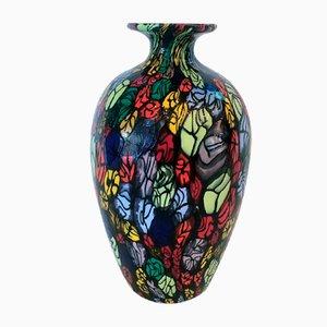 Murrine Vase by Livio Campanella for Vetreria Livio Campanella, 1990s
