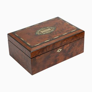 Victorian Thyua Jewellery Box